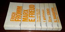 Marx e Freud, Erich Fromm, Il Saggiatore 1971.