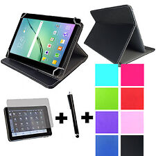 10 zoll Tablet Schutz Tasche  - Universal Hülle Bookstyle mit Folie Stift 3in1