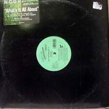 "N.C.O.P. Project - What's It All About 12"" Mint- CR 321 Vinyl 1994 Record"