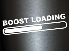 1 x 2 Plott Aufkleber Boost Loading Load Sticker Tuning Autoaufkleber Shocker