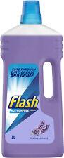 (1 L) Flash todo propósito líquido de limpieza para toda la casa con Lavanda Relajante
