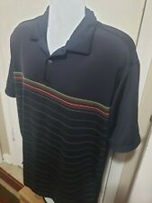 Nike Dri Fit Mens Uv Golf Polo, Logo Multi-Color, Large