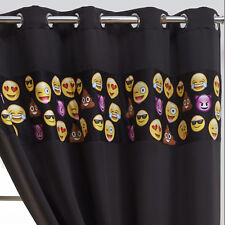 Luxury Pair Childrens Kids Boys Girls Bedroom Ring Top Thermal Blackout Curtains