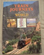 Train Journeys of the World Paperback Book by AA