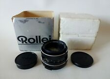 Schneider Kreuznach Rollei SL-Xenon Lens1.8/50 QBM Mount Typ from Germany in box