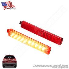 Buick Enclave POWER LED rear bumper reflectors in OEM Housing, 08 09 10 11 12