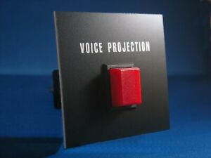 Knight Rider KITT VOICE PROJECTION Button - Authentic