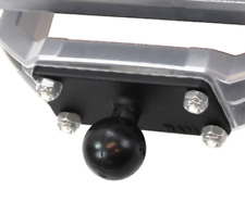 "Ram-B-202U-153 Ram B-Size 1"" Ball & Rectangular Plate w/ 1"" x 2.5"" 4-Hole Pattrn"