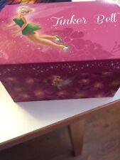 DISNEY TINKERBELL MIRROR JEWELRY BOX