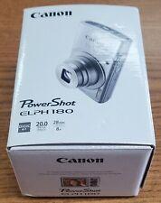 Canon ELPH 180 20MP 8x Optical Zoom Digital Camera - Silver - NEW OPEN BOX
