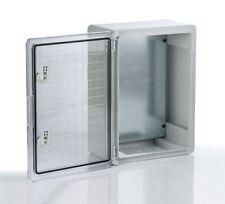 Kunststoff Schaltschrank Wandgehäuse Gehäuse Elektrogehäuse Verteilerschrank NEU