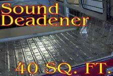 40 SqFt CedarMat Sound Deadener Proofing Very Thick Insulation Material+Roller
