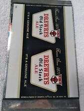 Minty Drewerys Old Stock Ale 12 Oz,Flat Top Beer Can/Cans,Drewrys Ltd BreweryCo,