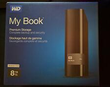 WD My Book 8TB USB 3.0 Leergehäuse SATA III 3 6G externe Festplatte MyBook NEU