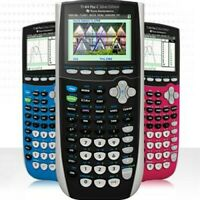 Texas Instruments TI-84 Plus C Silver Edition Calculator - Choose From 6 Colors!