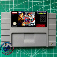 X-MEN vs Street Fighter SNES Video Game USA version FREE SHIPPING