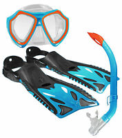 Land & Sea Kids Nipper Flippers Mask and Snorkel Set BRAND NEW