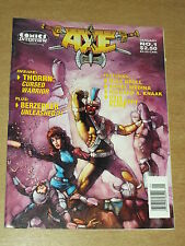 BATTLE AXE #1 JANUARY 1989 THORRN MIKE GRELL US MAGAZINE~