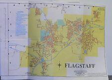 1992 Frontier Directory Street Map of Flagstaff & Sedona, Arizonia