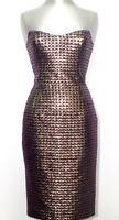 FRANKIE MORELLO Gold Label Cocktail Dress Kleid Abito DE 34 IT 40 NEU ETIKETT!