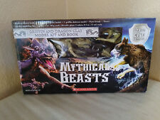 SCHOLASTIC MYTHICAL BEASTS GRIFFIN AND DRAGON CLAY MODEL KIT & BOOK NEW