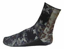 3MM CAMO FREEDIVING SPEARFISHING BOOTIES