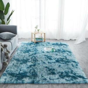 Fluffy Rugs Plush Rug Shaggy Large Rug Non Slip Living Room Super Soft Carpet