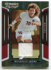 2008 Donruss Sports Legends Material Mirror Red 33 Michelle Akers Jersey 142/500