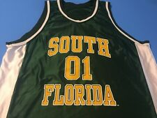 UNIVERSITY SOUTH FLORIDA BASKETBALL TEAM PRACTICE JERSEY NCAA VINTAGE XL T-SHIRT