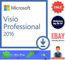 Genuine Product: Visio 2016 Professional key SALE Buy Now !!