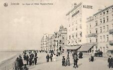 15887/ Foto AK, Ostende, Hotel Majestic, Stempel Matrosen Masch. Gew. Komp.,1915