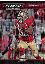 2017 Panini Player of the Day Wind Chimes #27 NaVorro Bowman 49ers /75