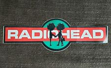 Very Rare Vintage Radiohead Bumper Sticker The Bends OK Computer 90s Unused