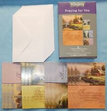 Box of 12 Praying for You Cards by Thomas Kinkade {DaySpring 83159} - New