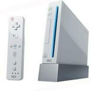 Nintendo Wii White Console NTSC Gamecube Backward Compatible FREE SHIPPING