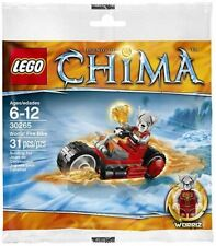 LEGO® - Sets - Chima - 30265 - Worriz' Fire Bike