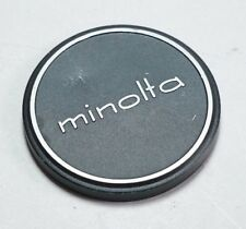 Minolta Camera 54mm Push On Metal Lens Cap