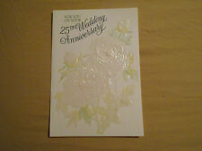 LOT OF 4 DAY SPRING EMBOSSED FOR YOU ON YOUR 25TH ANNIVERSARY