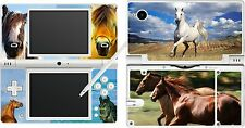 nintendo NDSi DSi original - HORSE THEME - 4 Piece - Sticker Skin UK