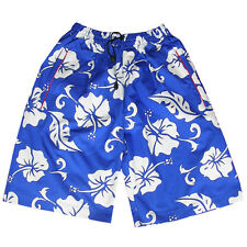 Mens Flower Board Swimming Trunks Swim Retro Skate Sports Shorts Surf Sports