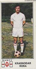 N°175 KRASNODAR RORA # CROATIA AS.NANCY VIGNETTE PANINI FOOTBALL 77 STICKER 1977