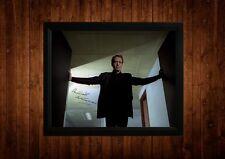 El Prisionero Patrick Mcgoohan Firmado Pp Enmarcado A4 Ideas de regalo Retro Tv