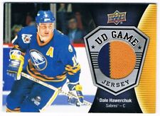 2016-17 Upper Deck UD Game Jersey #GJ-DH Dale Hawerchuk GROUP B !! SP
