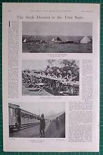 1900 BOER WAR ERA 6th DIVISON KELLY-KENNY'S CAMP OXFORDSHIRE LIGHT INFANTRY