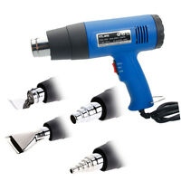 Dual Temperature 1500 Watt Heat Gun with Accessories Shrink Wrapping 4 Nozzles