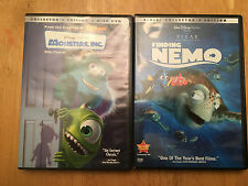 DVD Disney/Pixar Monster's Inc. and DVD Disney/Pixar Finding Nemo