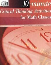 10-Minute Critical Thinking Activities for Math, Hope Martin, Good Book
