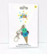 Disney Store Tsum Tsum Purse Charm Stitch And Scrump Ice Cream Cone Blue Green