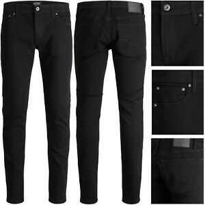 JACK & JONES LIAM 692 Slim Fit Herren Jeans Hose Elasthan Original Black NEU