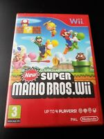 New Super Mario Bros Nintendo Wii - Complete With Manual Fully Tested